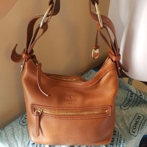 Dooney and bourke leather hobo purse